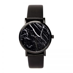 Marble Watch Black